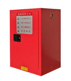 可燃液体存储柜_红 12加仑
