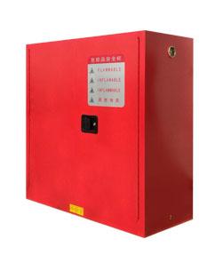可燃液体存储柜_红 30加仑